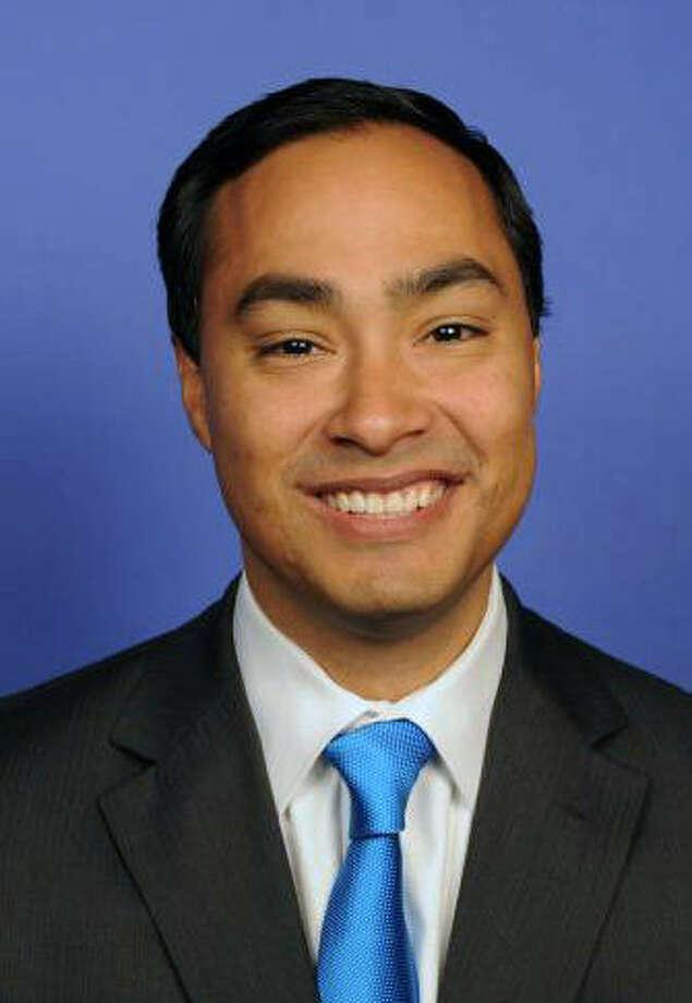 Joaquín Castro represents the 20th Congressional District of Texas in San Antonio.