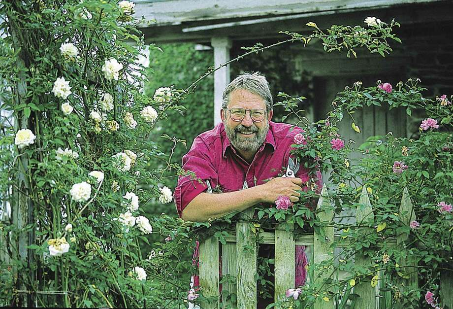 G. Michael Shoup says hardy roses play a role in the garden. He will speak Saturday at the Festival of Flowers. Photo: Texas A&M University Press