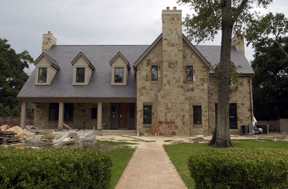 The home ex-Enron executive Andrew Fastow was building in River Oaks is pictured. Photo: Smiley N. Pool, Houston Chronicle / Houston Chronicle