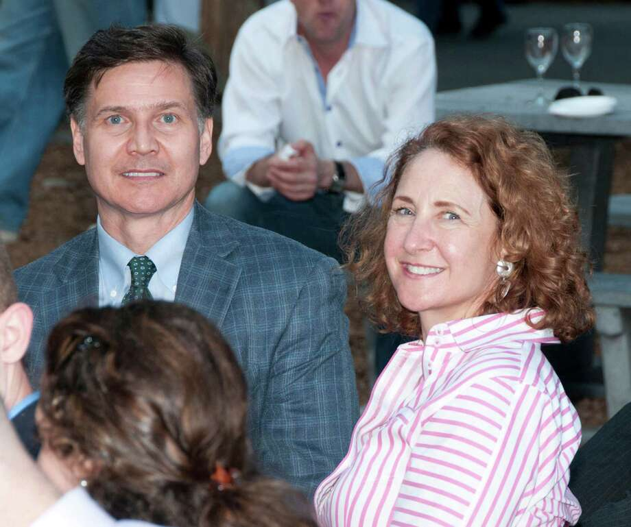 DEEP Commissioner Daniel Esty with wife, Connecticut Congresswoman Elizabeth Esty. Photo: Contributed Photo / The News-Times Contributed