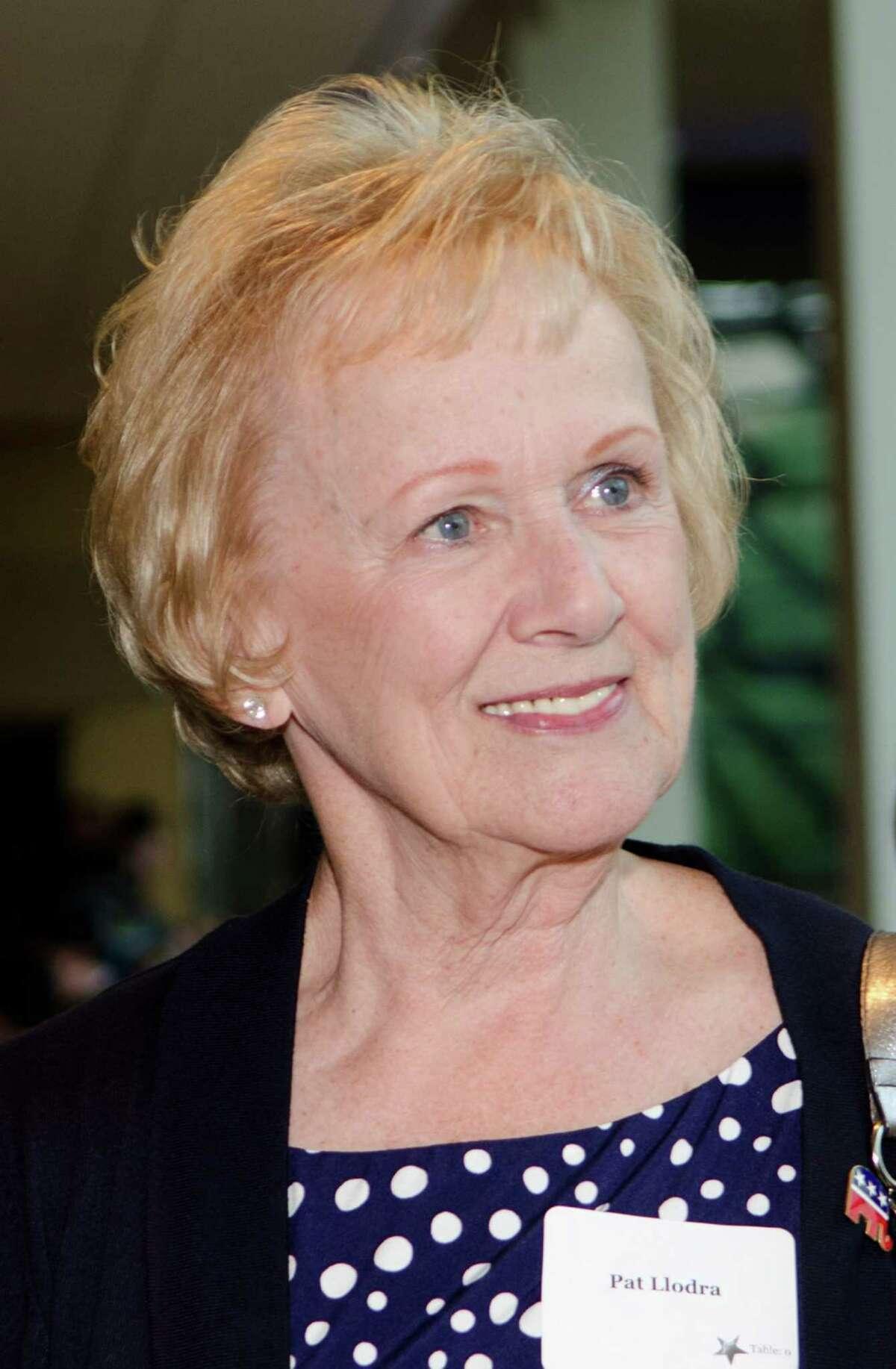 Newtown First Selectwoman Pat Llodra.