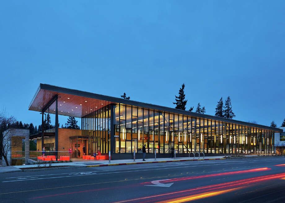 Merit Award: Newcastle Library, Newcastle. Photo: Mithun Architects