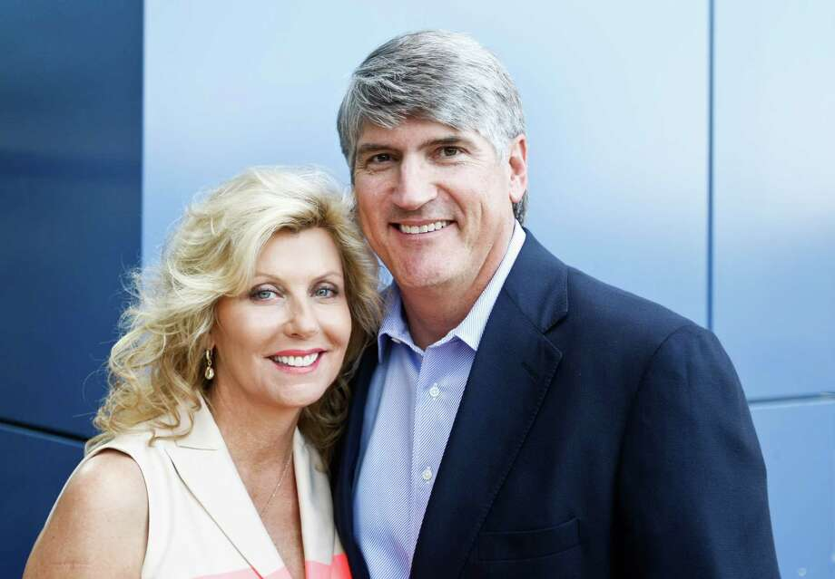 Susan and Michael Plank Photo: Nick De La Torre, Staff / © 2013 Houston Chronicle