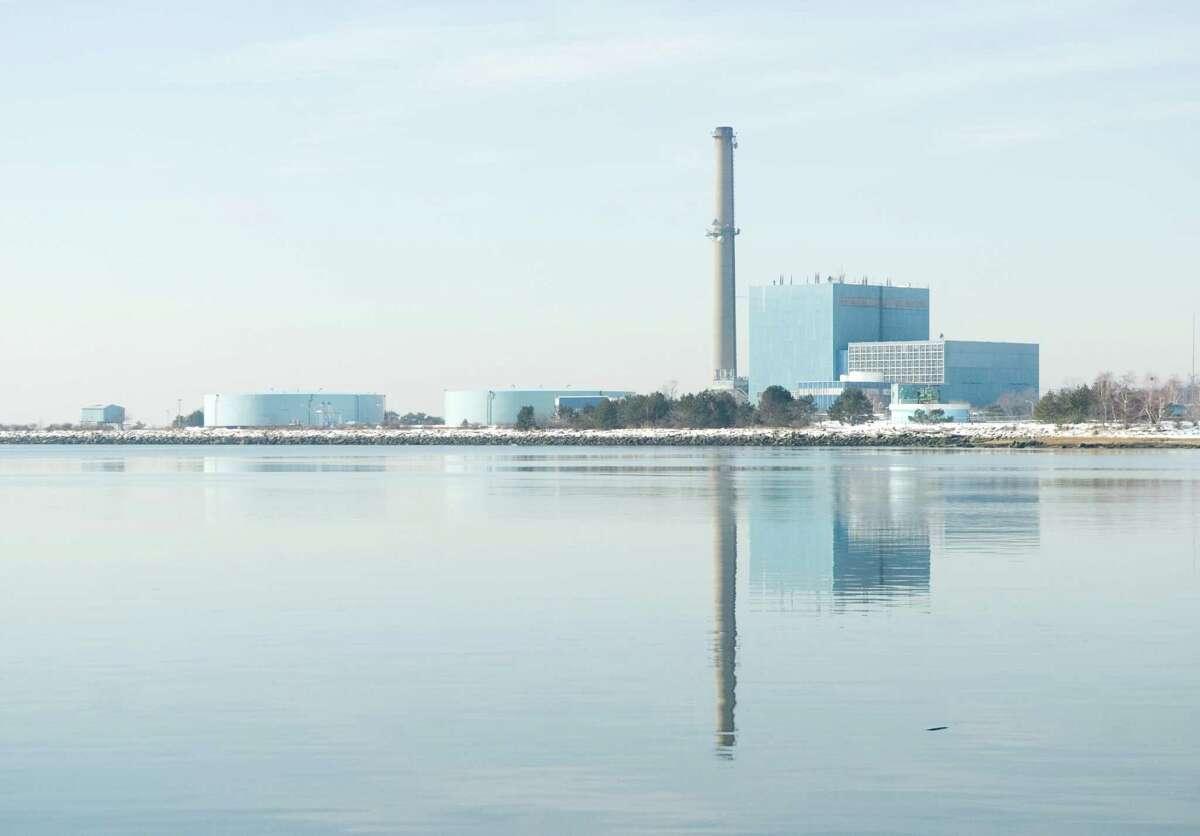 The NRG Energy Inc's power plant in South Norwalk.