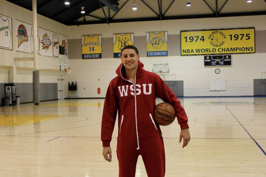 Klay Thompson rocks his alma mater.
