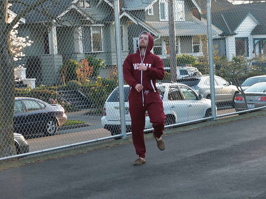 Note the WSU Swagga Suit's full-zip hood.