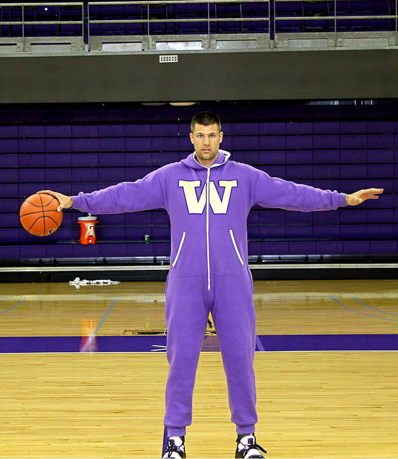 Brockman models the Swagga Suit in all its glory.