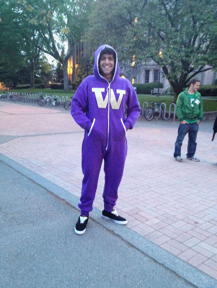 The Swagga Suit keeps you warm on your stroll to class. Or, y'know, to that frat party.