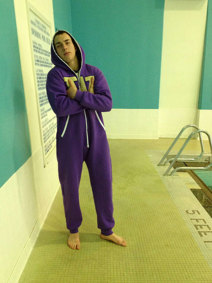 Actually, this would be the perfect outfit for a swim meet.