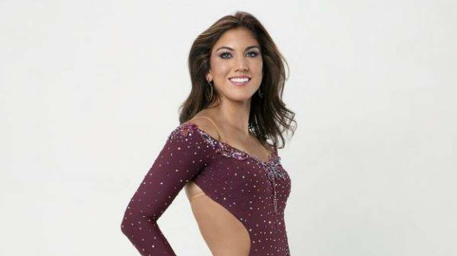 "Hope Solo poses in a promotional photo for season 13 of ""Dancing with the Stars."" Photo: ABC Photo"