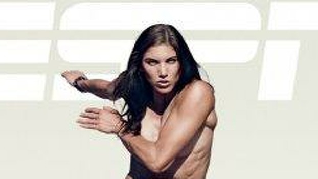 """Hope Solo posed nude for ESPN The Magazine's 2011 """"Body Issue."""" Photo: Promotional Photo, ESPN"""