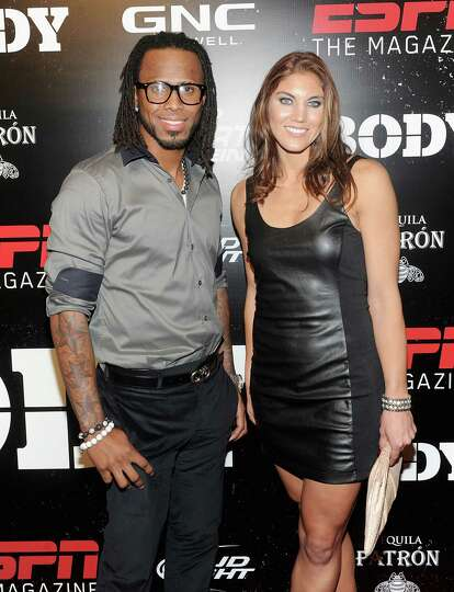 and Hope Solo attend E...