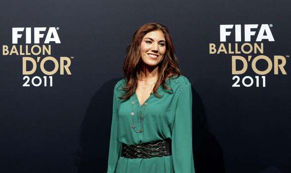 Star soccer player Hope Solo   Photo: Scott Heavey, Getty Images / 2012 Getty Images