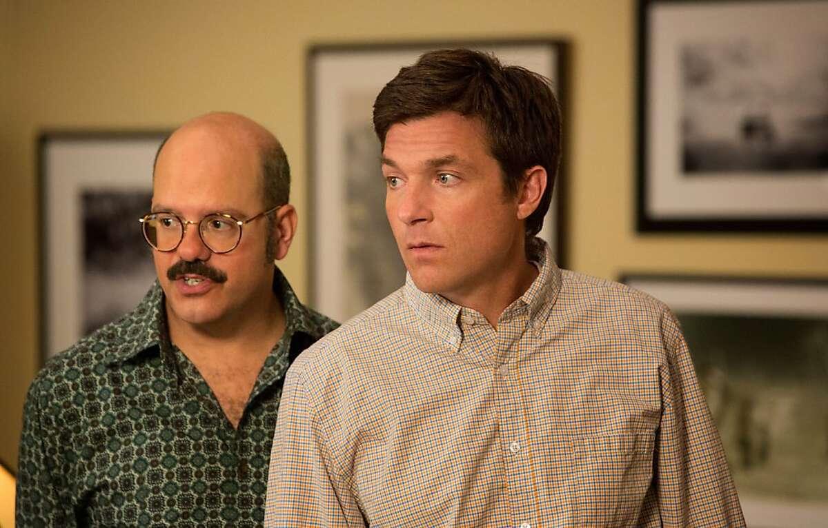 "ARRESTED DEVELOPMENT: David Cross (L) and Jason Bateman (R) in a scene from Netflix's ""Arrested Development."""