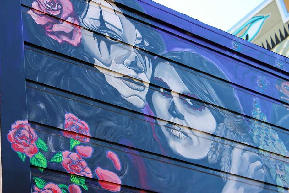 Balmy Alley murals Photo: Stephanie Wright Hession, Special To The Chronicle