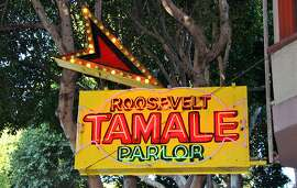 Roosevelt Tamale Parlor serves up squash, beef, chicken and pork tamales, handmade using organic, stone ground corn, and accompanied by rice, beans and a cabbage salad.
