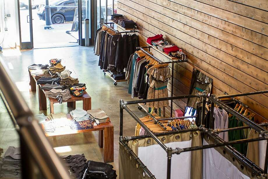 Online retailer Betabrand opened a brick-and-mortar shop in May. Photo: Jason Van Horn