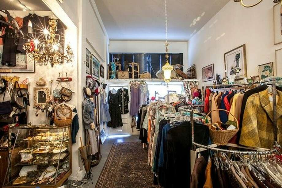 All Things Vintage is a biweekly sale of vintage fashion held by Claudia Ellinghaus and Lucinda Bald. Photo: All Things Vintage