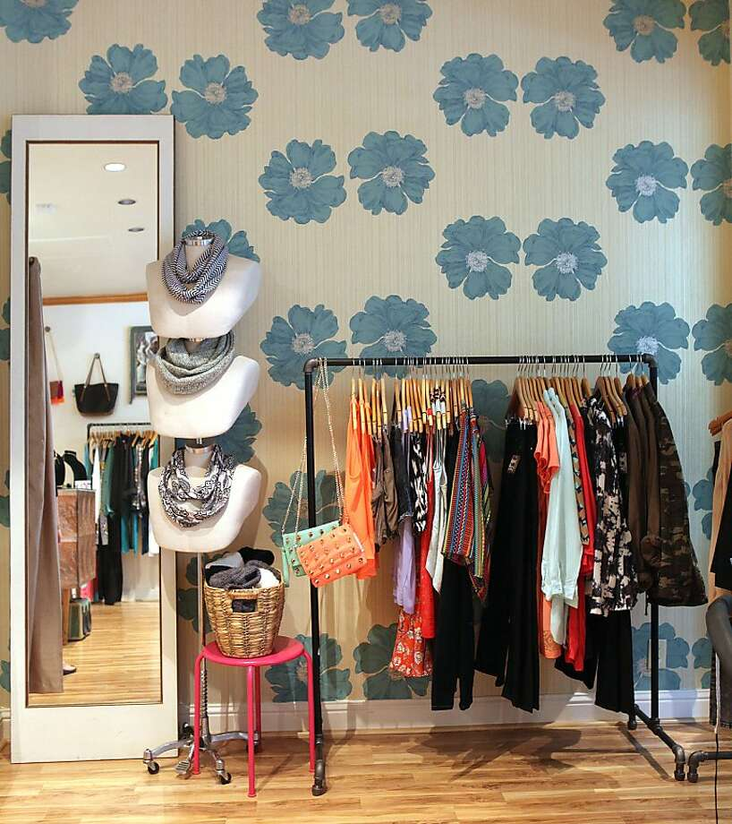 TopShelf Boutique, which got its start as a fashion truck, recently opened a small shop in the Crocker Galleria. Photo: Liz Hafalia, The Chronicle