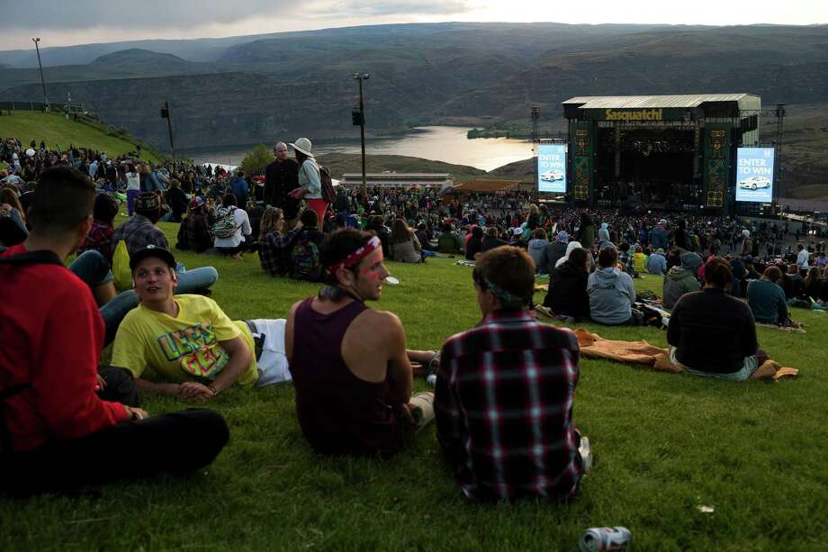 Tens of thousands of attendees flocked from all over the U.S. and beyond to attend the first day of the annual Sasquatch music festival Friday, May 24, 2013, at The Gorge Amphitheatre in George. Photo: JORDAN STEAD, SEATTLEPI.COM / SEATTLEPI.COM