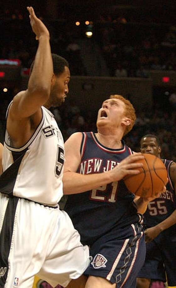 2001 - Brian Scalabrine  The forward from USC had an 11-year career, playing with the Nets, Boston Celtics and Chicago Bulls.