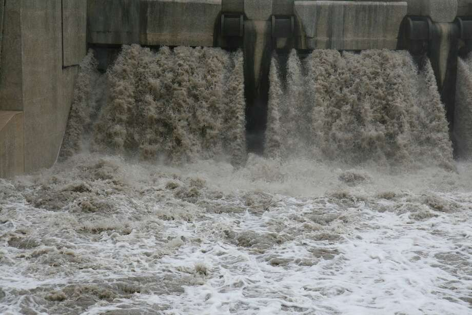 The south end of the floodwater tunnel Photo: Markus Haas / Express-News