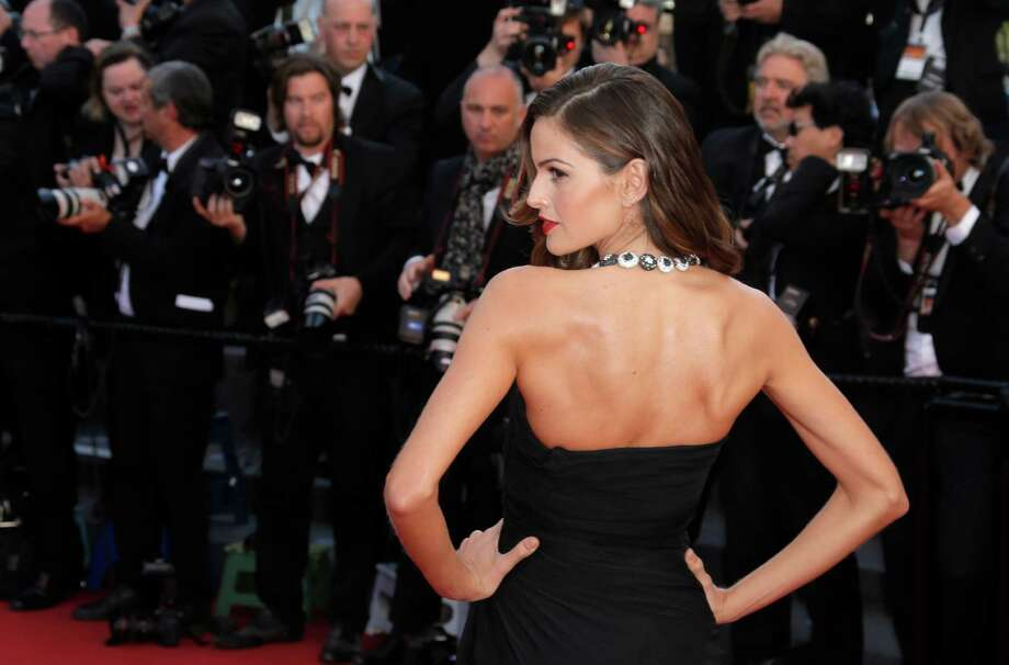 Model Izabel Goulart for the screening of The Immigrant at the 66th international film festival, in Cannes, southern France, Friday, May 24, 2013. Photo: AP