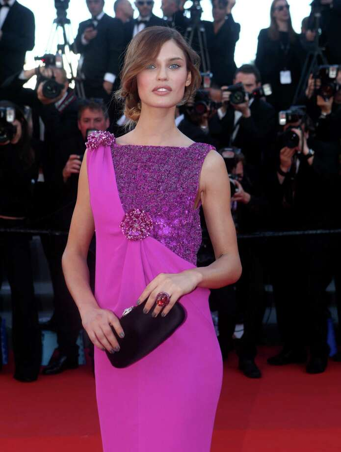 Model Bianca Balti arrives for the screening of The Immigrant at the 66th international film festival, in Cannes, southern France, Friday, May 24, 2013. Photo: AP
