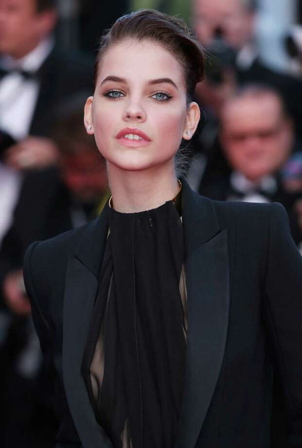 Model Barbara Palvin arrives for the screening of Behind the Candelabra at the 66th international film festival, in Cannes, southern France, Tuesday, May 21, 2013. Photo: AP