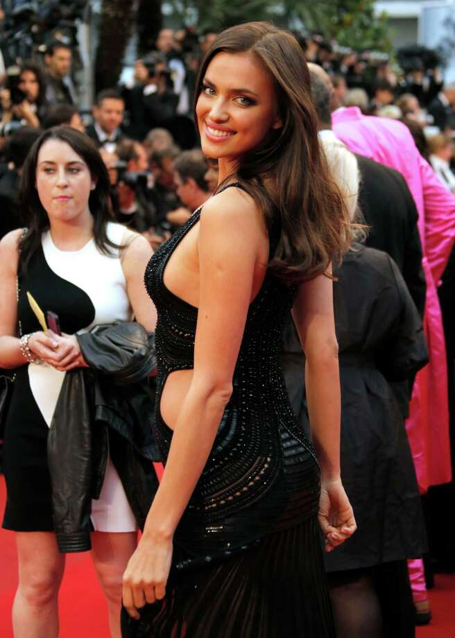 Model Irina Shayk poses as she arrives for the screening of All Is Lost at the 66th international film festival, in Cannes, southern France, Wednesday, May 22, 2013. Photo: AP
