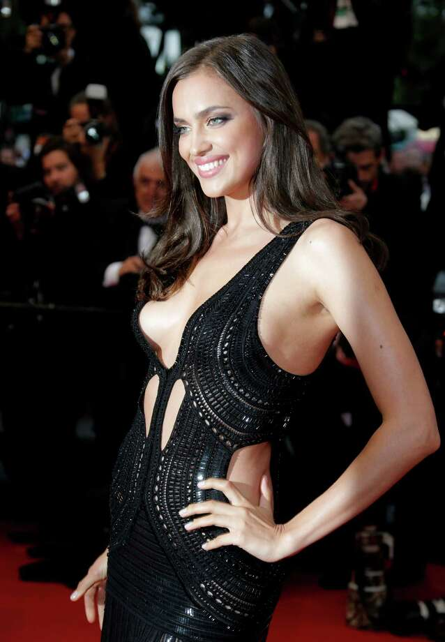 Model Irina Shayk poses as she for the screening of All Is Lost at the 66th international film festival, in Cannes, southern France, Wednesday, May 22, 2013. Photo: AP