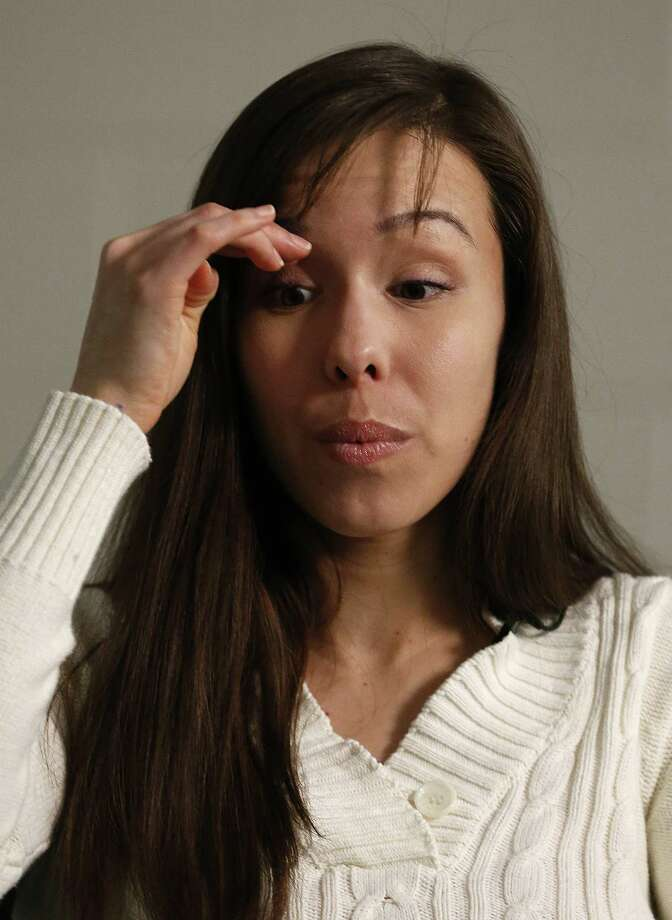 Convicted killer Jodi Arias pauses before answering a question during an interview at the Maricopa County Estrella Jail on Tuesday, May 21, 2013, in Phoenix.  Arias was convicted recently of killing her former boyfriend Travis Alexander in his suburban Phoenix home back in 2008, made a plea for life in prison, instead of execution, saying she can contribute to society if allowed to live. Photo: AP
