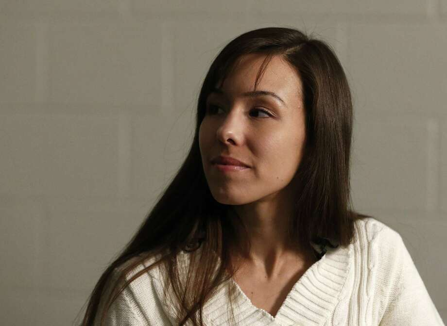 Convicted killer Jodi Arias looks away prior to answering a question during an interview at the Maricopa County Estrella Jail on Tuesday, May 21, 2013, in Phoenix.  Arias was convicted recently of killing her former boyfriend Travis Alexander in his suburban Phoenix home back in 2008, and could face the possibility of the death penalty as the sentencing phase of her trial continues. Photo: AP