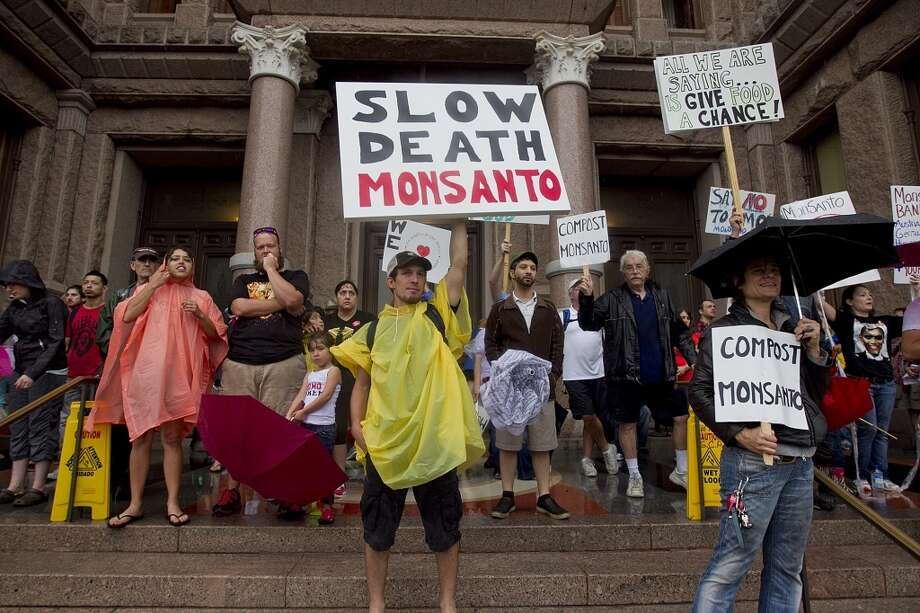 A little rain didn't stop a large crowd from coming to the Capitol in Austin to participate in the March Against Monsanto, an event held concurrently in 250 cities and 50 countries, according to the rally's organizers.