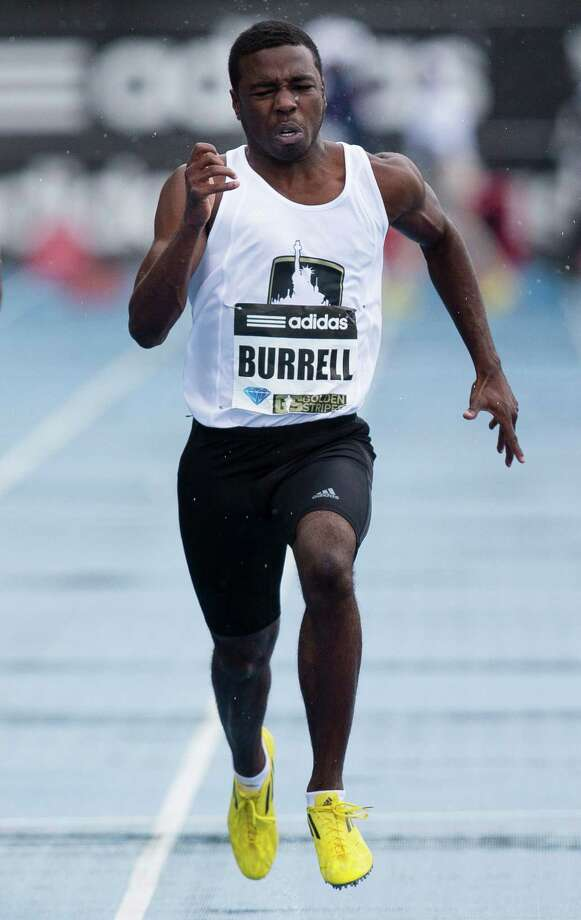 Ridge Point's Cameron Burrell ran to a clear victory in the high school boys' 100-meter dash at the Adidas Grand Prix. The future UH sprinter earned the win on the same New York track where his father, Leroy, set a world record in the 100 meters in 1991. Photo: John Minchillo, FRE / FR170537 AP