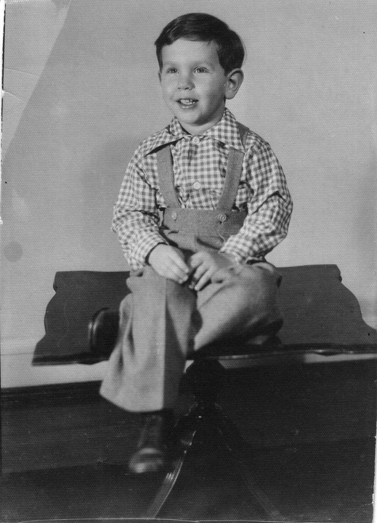 Larry Ellison at age 2.