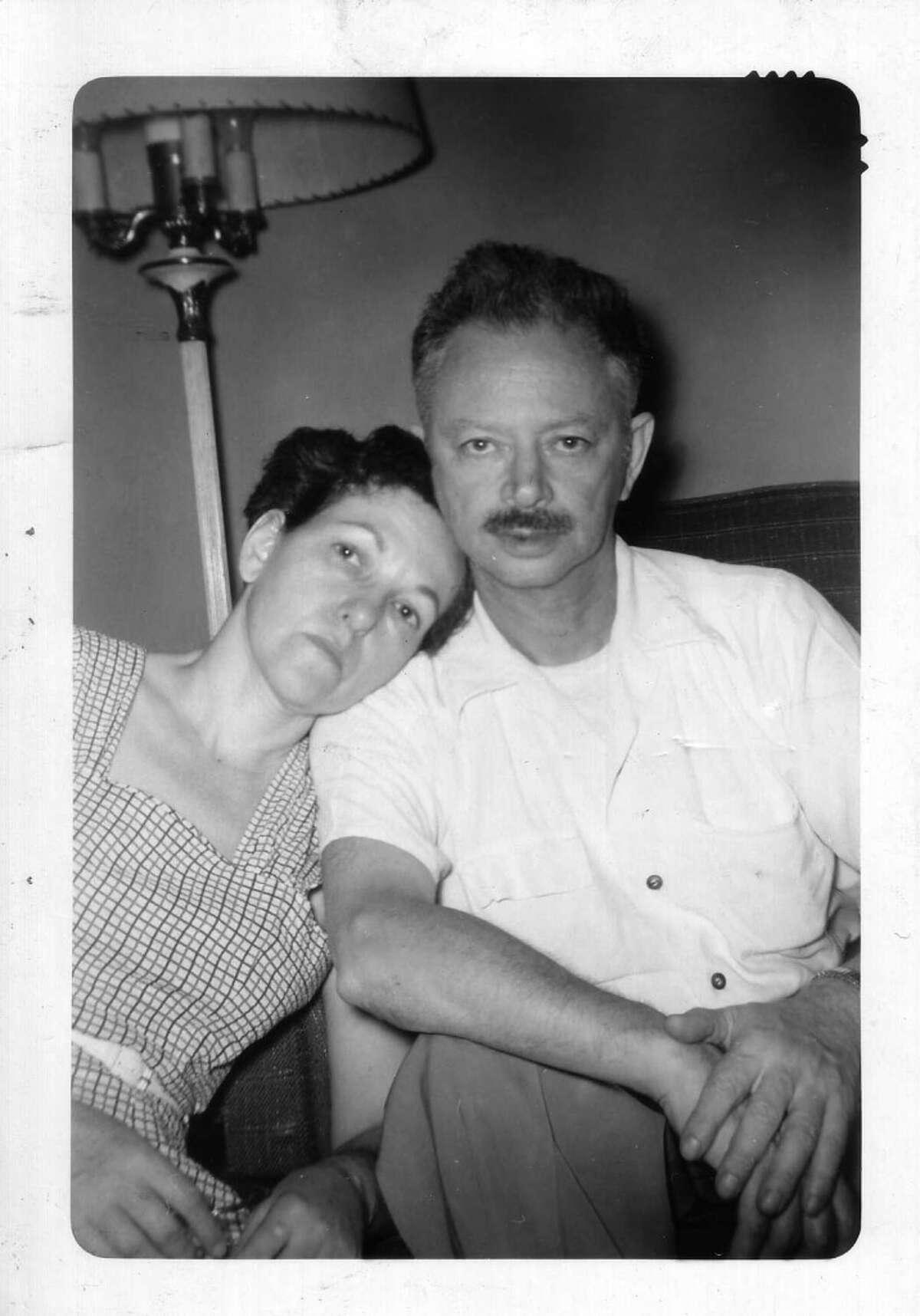 Larry Ellison's adoptive parents, Lillian and Louis Ellison.