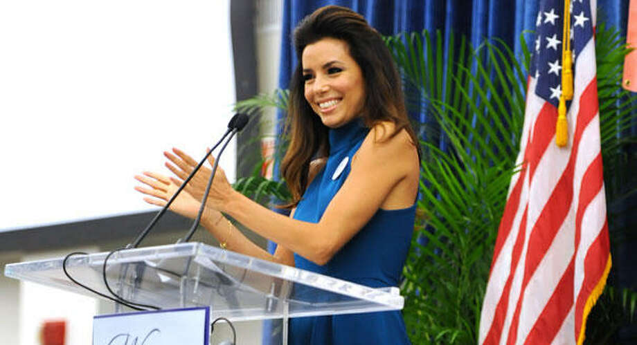 Eva Longoria has been a surrogate for the Barack Obama re-election campaign. Photo: Jeff Daly/Invision/AP