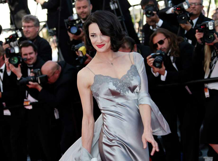 Actress Asia Argento arrive for the awards ceremony of the 66th international film festival, in Cannes, southern France, Sunday, May 26, 2013. Photo: AP
