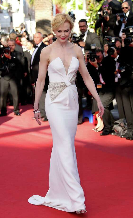 Jury member and actress Nicole Kidman arrives for the awards ceremony of the 66th international film festival, in Cannes, southern France, Sunday, May 26, 2013. Photo: AP
