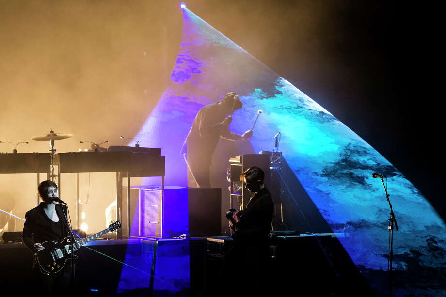 The xx perform on the second day of the annual Sasquatch music festival Saturday, May 25, 2013, at The Gorge Amphitheatre in George. Photo: JORDAN STEAD, SEATTLEPI.COM / SEATTLEPI.COM