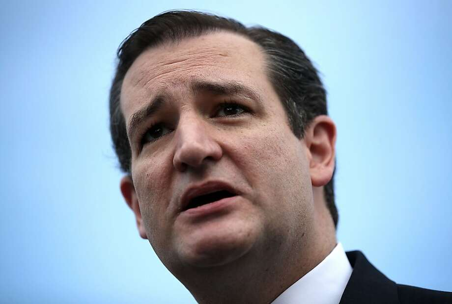 GOP Texas Sen. Ted Cruz, who is being urged to run for president, was born in Canada to an American mother. Photo: Alex Wong, Getty Images