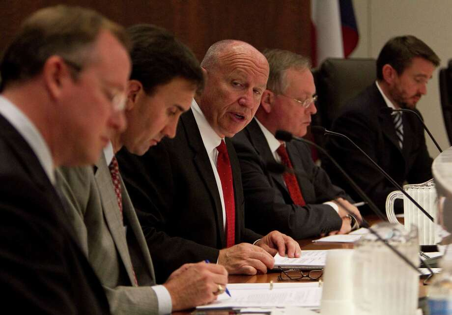 U.S Congressman Kevin Brady, R-Texas, speaks during an Energy and the Economy Forum at the South Texas College of Law Monday, Oct. 18, 2010, in Houston. Photo: James Nielsen, Houston Chronicle / Houston Chronicle