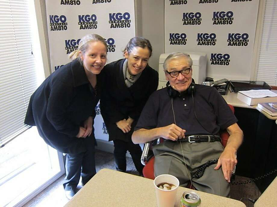 Gene Burns hosted discussions of politics, social issues, and good food and drink. Photo: Kgo