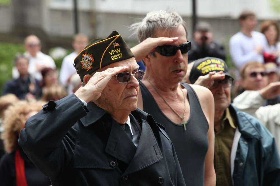 Stamford holds their Memorial Day parade on Sunday, May 26, 2013. Photo: BK Angeletti, B.K. Angeletti / Connecticut Post freelance B.K. Angeletti
