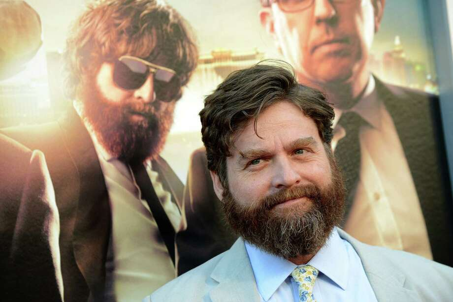 "Zach Galifianakis arrives at the LA Premiere of ""The Hangover: Part III"" at the Westwood Village Theatre on Monday, May 20, 2013 in Los Angeles. (Photo by Jordan Strauss/Invision/AP) Photo: Jordan Strauss"