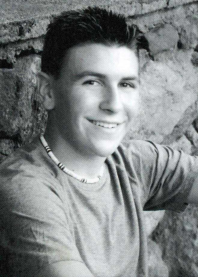 """Nicholas Roy, a contestant on ABC TV's """"The Bachelorette,"""" is shown here in his Ridgefield High School yearbook photo from 2004. Photo: Contributed Photo"""