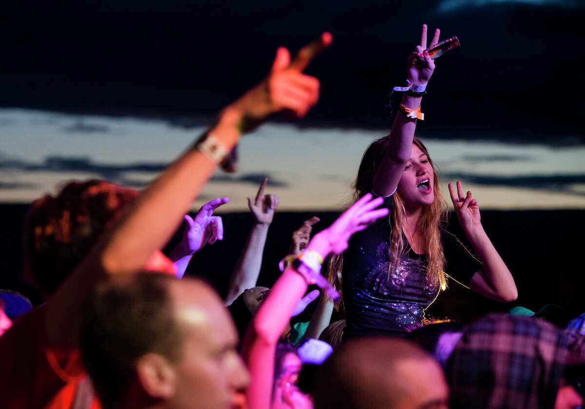 Crowds flocked to enjoy the third day of the annual Sasquatch music festival Sunday, May 26, 2013, at The Gorge Amphitheatre in George.