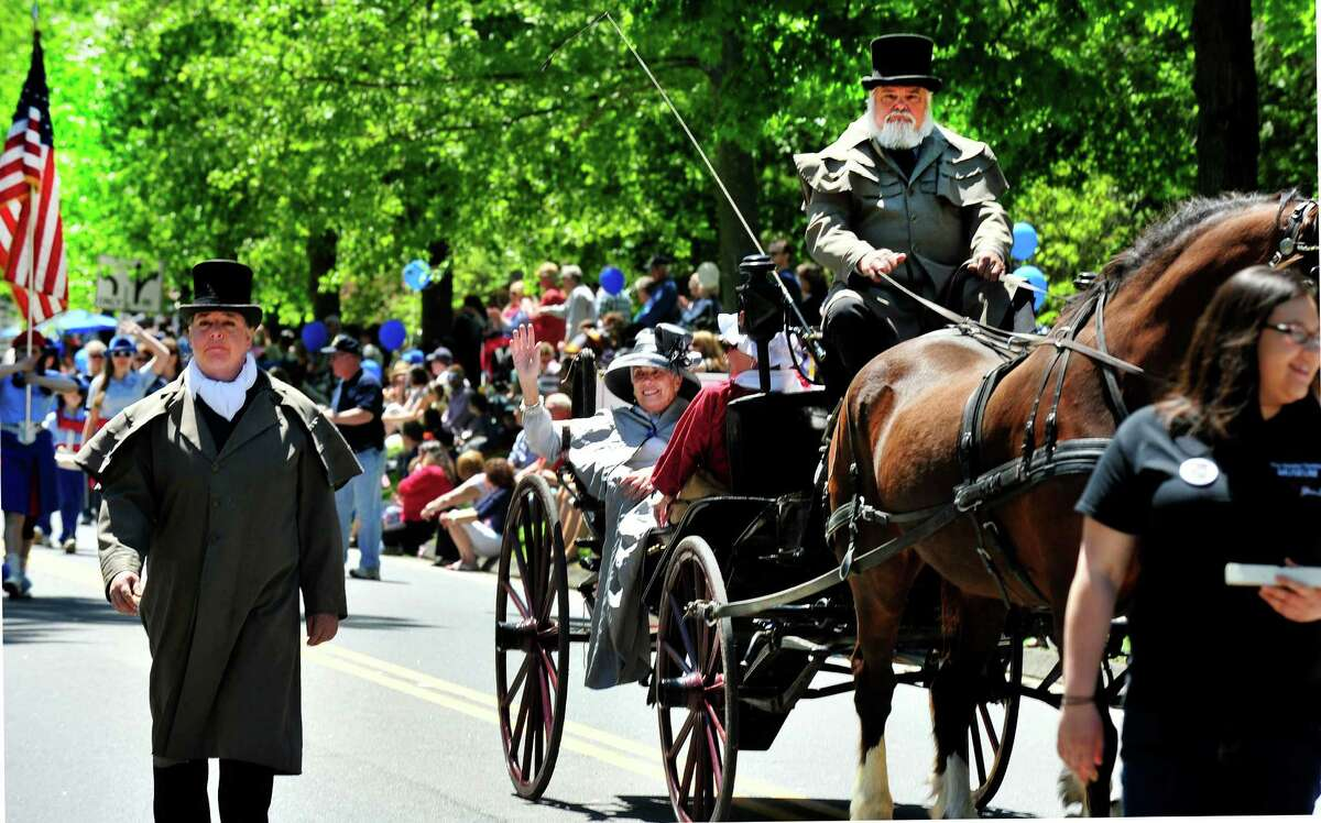 Ridgefield, Conn., honors those who gave their lives for our freedom with it's annual Memorial Day parade Monday, May 27, 2013.