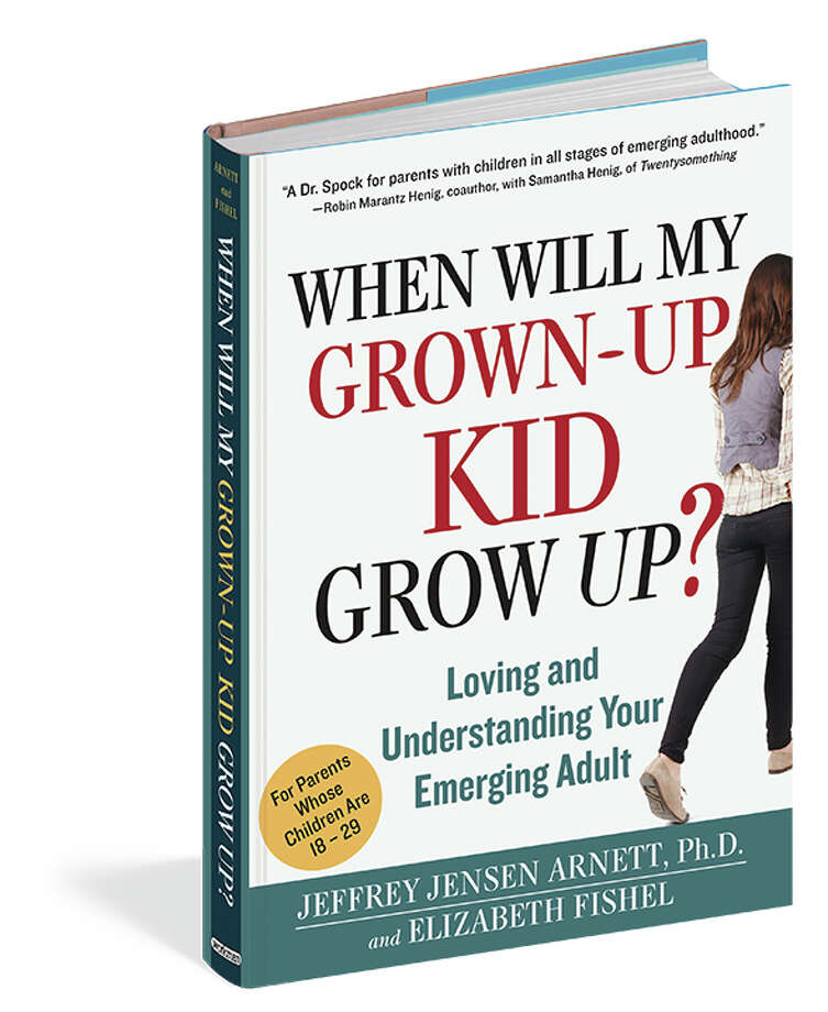 """When Will My Grown-up Kid Grow Up?"" book jacket Photo: --"